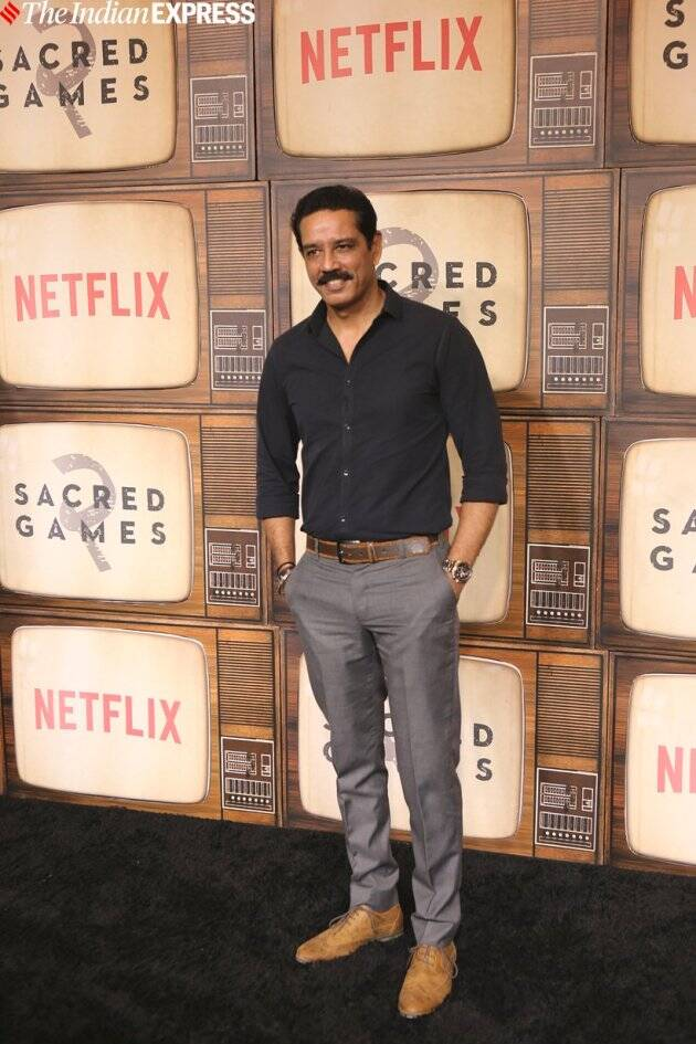 Anup Sonii at Sacred Games 2 premiere in Mumbai