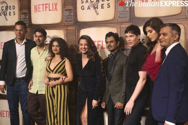 Sacred Games season 2 star cast at the premiere