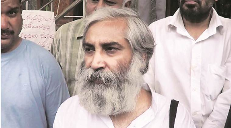 Lucknow city news, Kashmir protest, Sandeep Pandey activist, Ramon Magsaysay award Sandeep Pandey, Lucknow Kashmir protest, Article 370 Jammu Kashmir, Indian Express