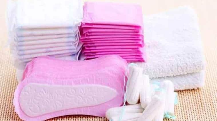 santary napkin, menstrual health, irregular period, normal period cycle, indian express