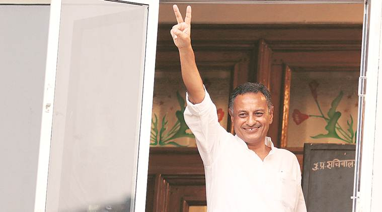 Samajwadi Party, Sanjay Seth, Sanjay Seth resignation, Sanjay Seth quits Samajwadi Party, Akhilesh Yadav, Indian express