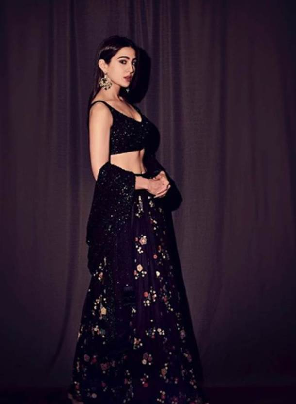 sara ali khan, sara ali khan birthday, sara ali khan birthday, sara ali khan photos, sara ali khan ethnic wear, sara ali khan birthday, sara ali khan lehenga photos, indian express, indian express news