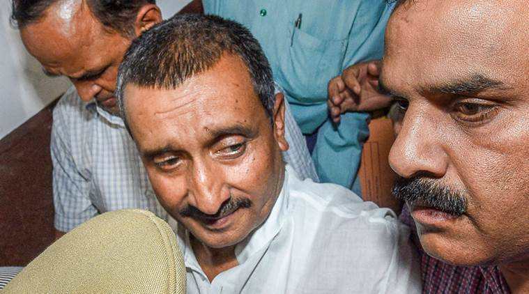 kuldeep singh sengar, sengar ad, unnao rape case, unnao rape, kuldeep singh sengar, UP police, indian express