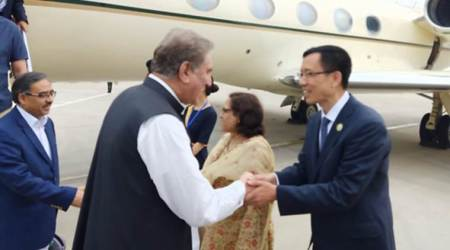 india pakistan relations, jammu and kashmir, jammu and kashmir news, pakistan foreign minister, shah mahmood qureshi, pakistan china relations, china pakistan relations, world news, Indian Express
