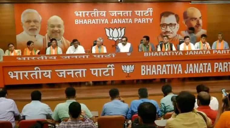 sikkim, sikkim democratic front mla join bjp, sdf mla join bjp, pawan kumar chamling sdf, bjp in northeast, india news, indian express