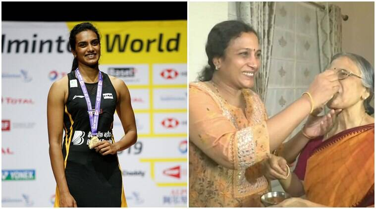 Watch: Celebrations at PV Sindhu's Hyderabad home after World Championships victory