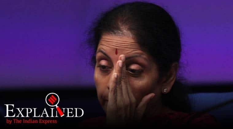 Nirmala Sitharaman, Nirmala Sitharaman's press conference, indian economy, foreign portfolio investors, Sitharaman on FPIs, home auto loans, Express Explained, nirmala sitharaman news, indian express