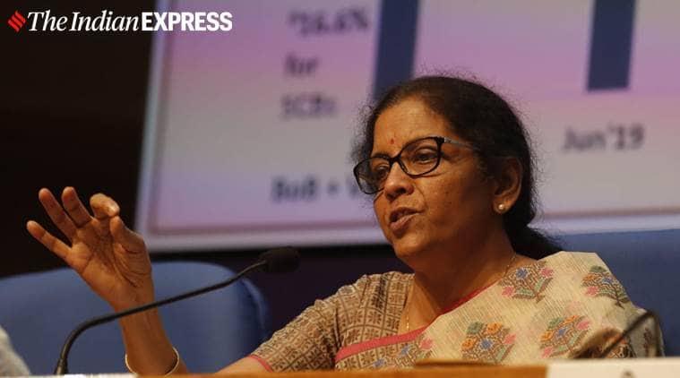 nirmala sitharaman finance minister, automobile sector drop in sales, sales production passenger cars, economic slowdown