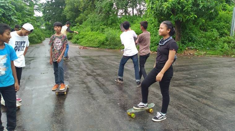 Tripura skateboarding club, Skateboarding in Tripura, Tripura Hucko skateboarding club, Tripura news Indian Express