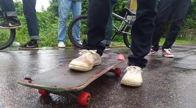 Tripura skateboarding club, Skateboarding in Tripura, Tripura Hucko skateboarding club, Tripura news Indian Express