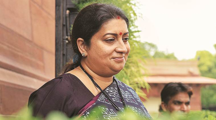 Smriti Irani, Mamata Banerjee, cut money, Bengal, NRC, Bengal latest news, indian express news