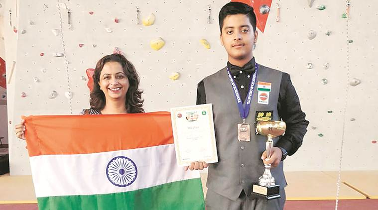 snooker, snooker championship, under 16 snooker championship, Ranveer Duggal, snooker champion, chandigarh snooker champion, sports news, indian express