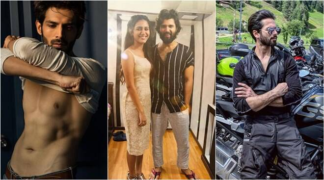 Celebrity social media photos: Kapil Sharma, Priya Prakash Varrier, Shahid Kapoor and others
