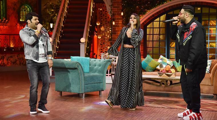 Sonakshi Sinha Badshah and Kapil Sharma