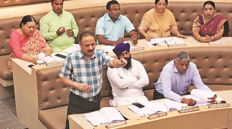 Chandigarh fire officials forcing building owners to buy equipment from shops of their choice: BJP leader