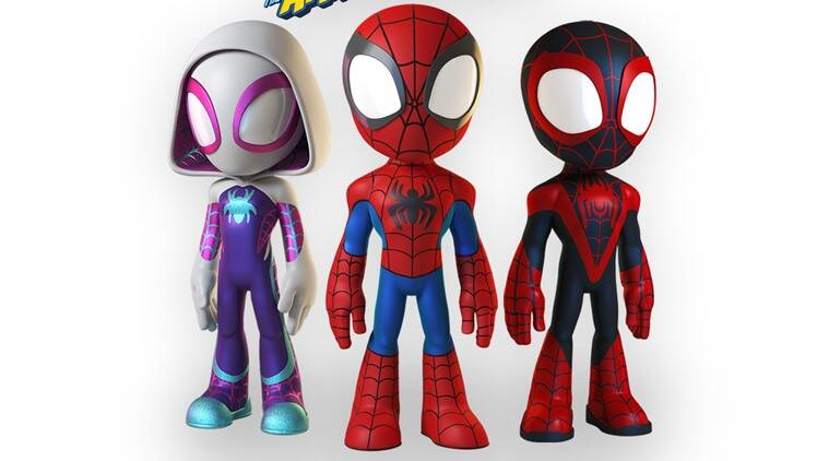 Marvel's Spidey and His Amazing Friends series announced for Disney Junior at D23 Expo