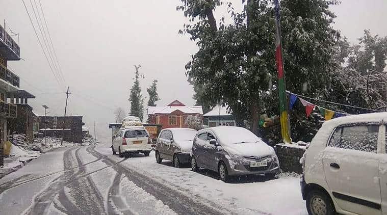 One dead in Lahaul-Spiti; unseasonal snowfall after 11 years