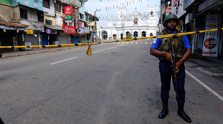 Sri Lanka emergency, emergency in Sri Lanka, Sri Lanka ends emergency, Easter attack Sri Lanka, Indian Express world news