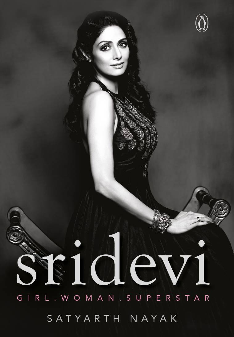 sridevi, sridevi book, sridevi memoir, sridevi biography, sridevi book penguin, sridevi book, indian express, indian express news