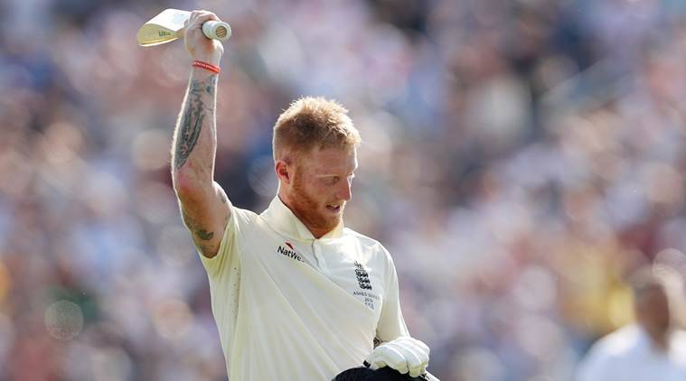 England's Ben Stokes celebrates winning the test (Action Images via Reuters/Lee Smith)