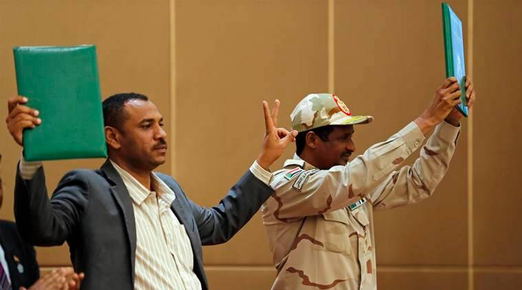 sudan, sudan protests, mass protests in sudan, military council sudan, sudan mass protests, omar al bashir, rapid support forces, sudan violence, world news, indian express news