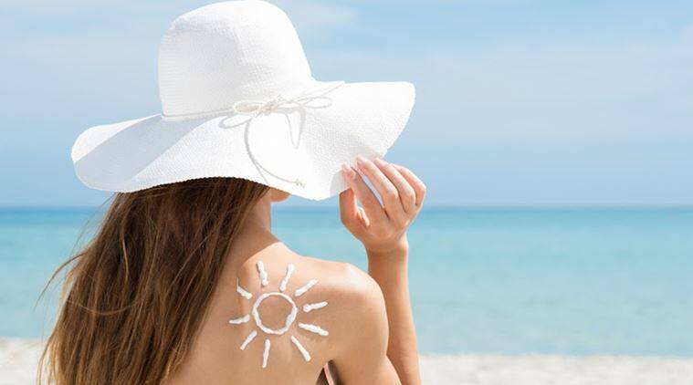 sunscreen, monsoon skincare tips, indian express, indian express news