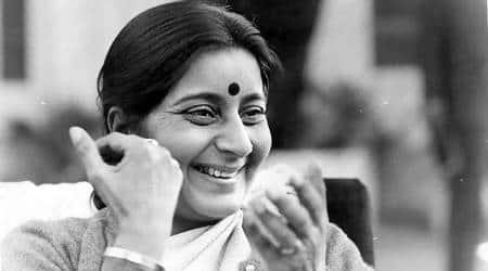 Sushma Swaraj, First death anniversary of Sushma Swaraj, S jaishankar remembers Sushma Swaraj, Sushma Swaraj tributes, India news, Indian express