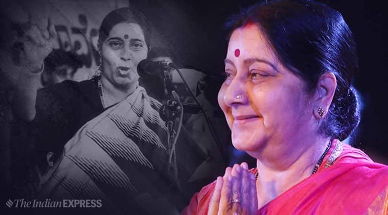 Sushma Swaraj, Sushma Swaraj death, BJP leader Sushmad Swaraj, tribute to sushma swaraj