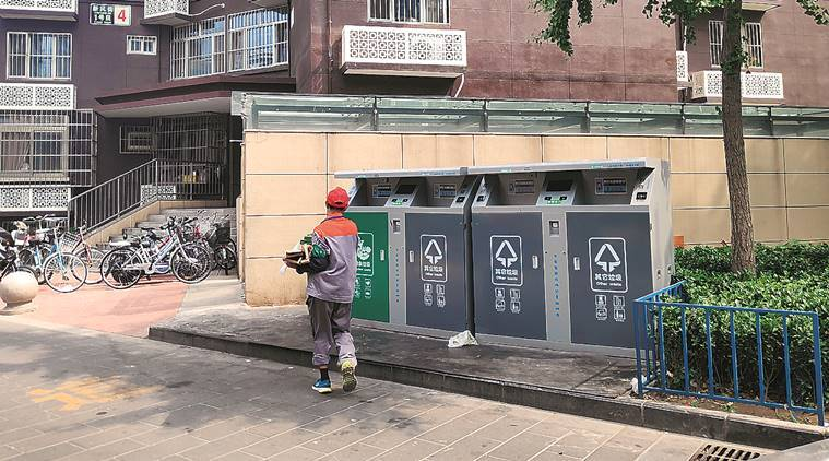 Swachh China: Trash cans with facial ID and reward points