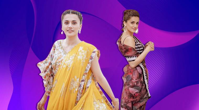 Taapsee Pannu, mission mangal, Taapsee Pannu, mission mangal, Taapsee Pannu, mission mangal promotions, Taapsee Pannu mission mangal promotions, indian express, indian express news