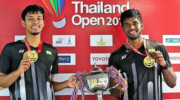 Chirag Shetty satwiksairaj rankireddy, Chirag Shetty, satwiksairaj rankireddy, rankireddy shetty, thailand open, badminton doubles