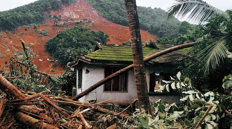 Nilambur landslide: Only house standing, but resident not sure of it's a good thing to be alive