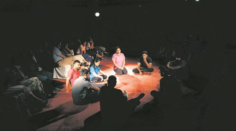 unravel play, unravel play on mental health, plays on mental health, theatre on mental health, theatre plays on mental health, art and culture, Indian Express