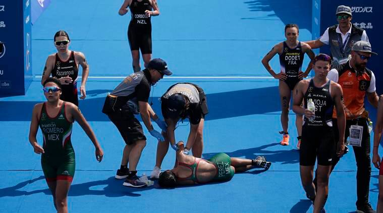 Along with triathlon qualifiers, Tokyo's sweltering heat puts more Olympic events at risk