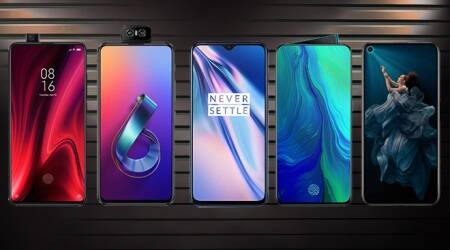 top mobile phones under Rs 35000, redmi k20 pro, oneplus 7, asus 6z, honor 20, oppo reno