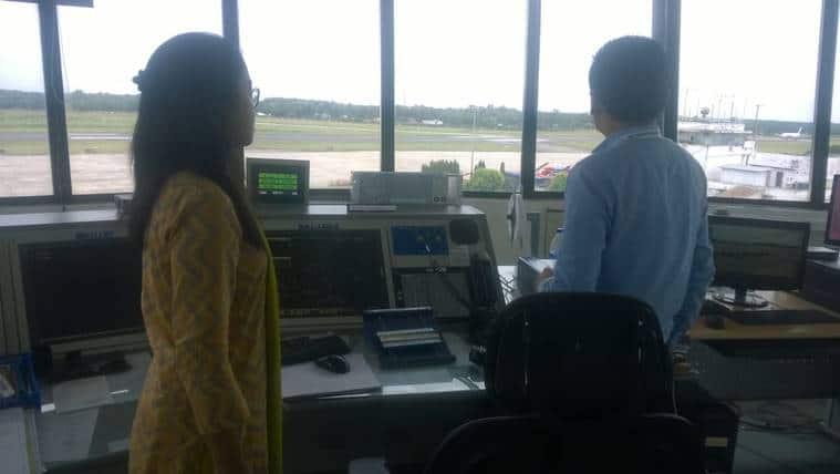 tripura atc, tripura first woman atc, bipasha hrangkhawl, bipasha hrangkhawl tripura atc, air traffic controller, atc exam, first woman atc officer of tripura, indian express news