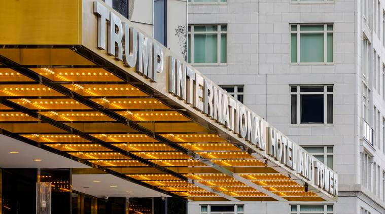 Trump's signature New York hotel and the art of the compromise