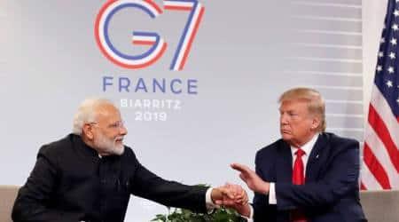 Donald Trump, Donald Trump on G7 summit, G7 summit, G7 summit India, India news, Indian Express