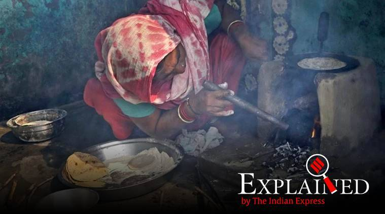 Modi Ujjwala Yojana, Air pollution in India, Solid fuel burning in India, India clean air, Express Explained