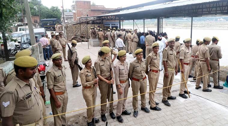 Madhya pradesh, Madhya Pradesh police, BJP MLA protest cost, Surendra Nath Singh protests, Indian express
