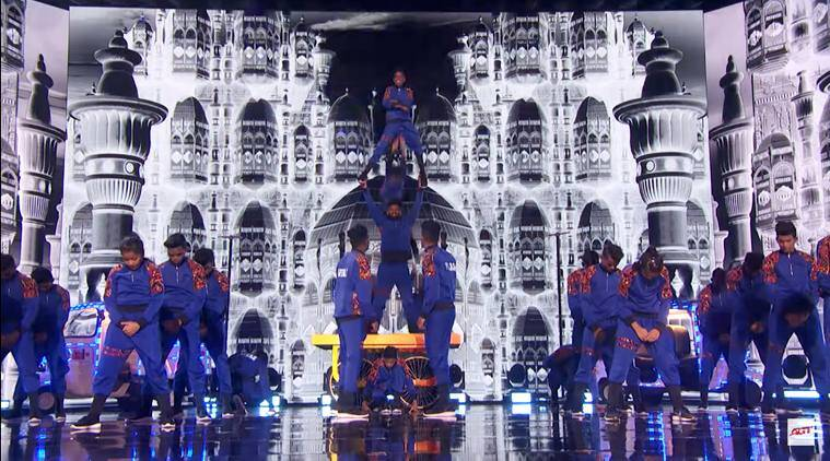 Indian Dance Group V Unbeatable Stuns With Their Latest Act In