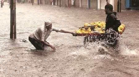 vadpdara rains, vadodara floods, vadodara municipal corporation, vmc measures, vmc flood measure, vadodara news, indian express