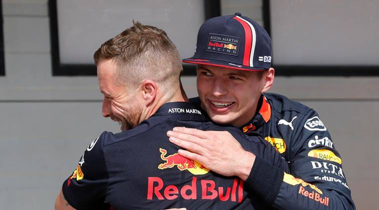 Max Verstappen takes his first F1 pole in Hungary