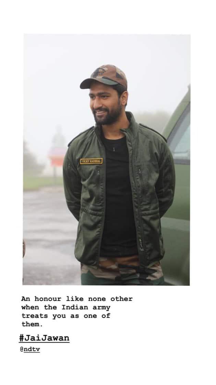 vicky kaushal, vicky kaushal army camp, vicky kaushal roti indian army, vicky kaushal photos, vicky kaushal instagram, vicky kaushal soldiers, vicky kaushal pics