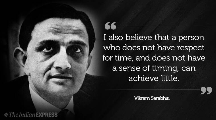 vikram sarabhai, indianexpress.com, indianexpress, space science, father of indian space program, ISRO, birth centenary, sarabhai100, SarabhaiCentenary,