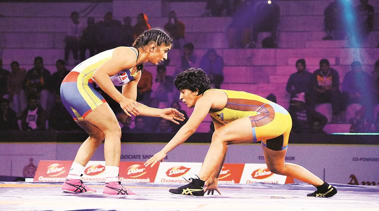 wrestling Andrew Cook, Andrew cook, Vinesh Phogat, Divya Kakran, Dangal wrestling, wrestling sports, sports news, indian express