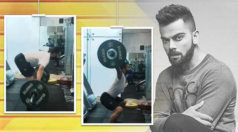 Virat Kohli, Virat Kohli fitness videos, Virat Kohli twitter, Virat Kohli fit body, indianexpress.com, indianexpress,