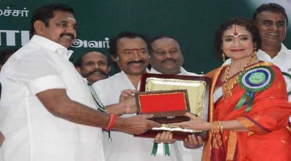 Vyjayanthi Mala, Kalaimamani Awards