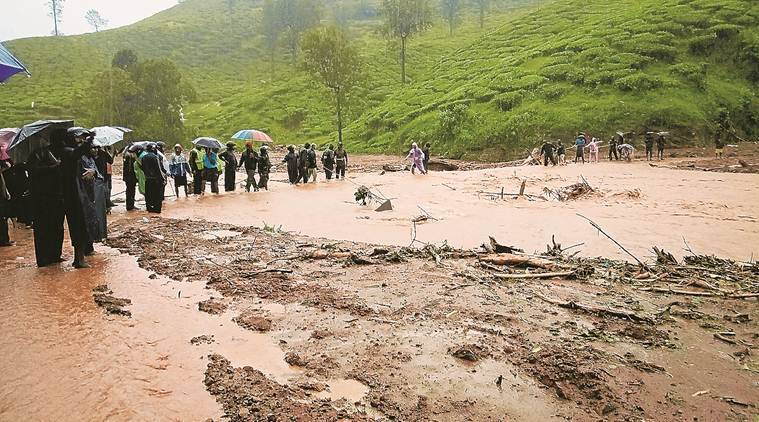 kerala rains, kerala weather, wayanad landslide, kerala rains today, kerala rains death toll, wayanad landslide death toll, rains in kerala, indian express