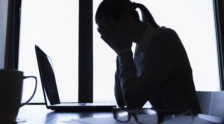 hair loss, work stress, anxiety at workplace, indian express, indian express news